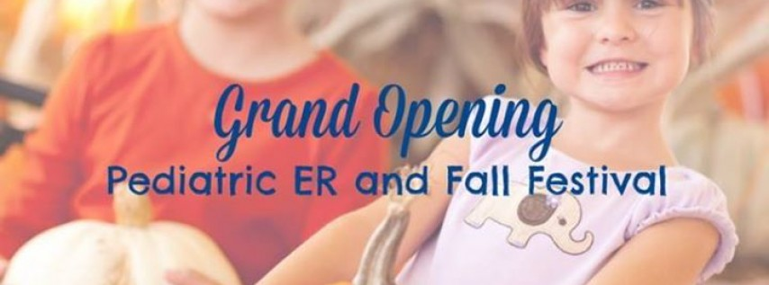 Pediatric ER Grand Opening and Fall Festival