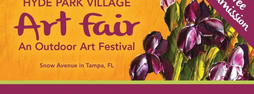 28th Annual Hyde Park Village Art Fair