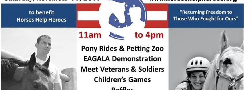 Horses Help Heroes Veterans Day Fundraiser