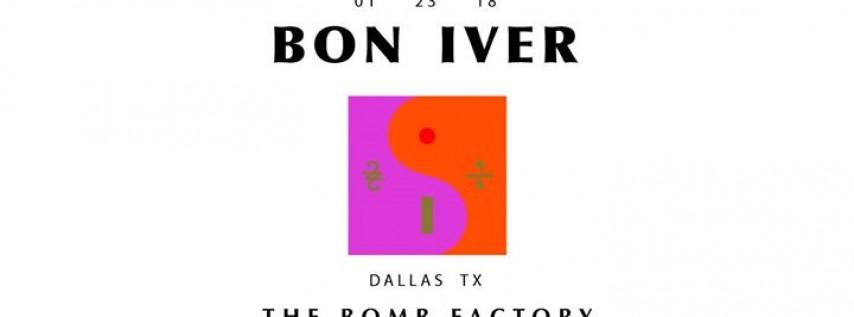 KXT 91.7 presents Bon Iver