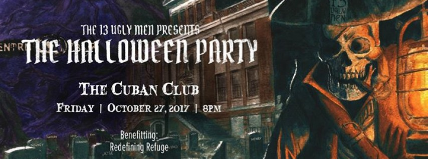 the 13 ugly men presents the halloween party tampa fl oct 27 2017 800 pm - Halloween Tampa Fl