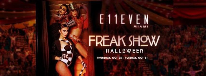 Freak Show Halloween Night ft. Borgore