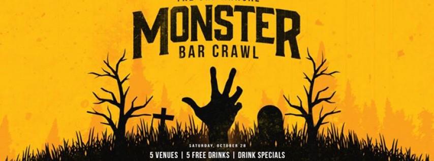 3rd Annual Brickell Monster Bar Crawl!