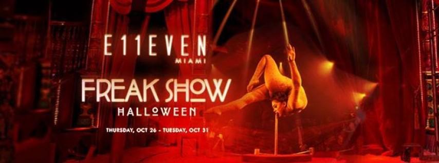 Freak Show Halloween ft. Obscene