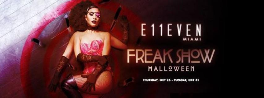 Freak Show Halloween ft. Party Favor