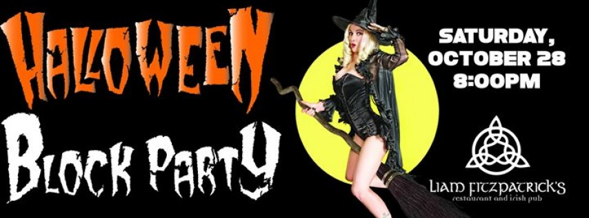 Halloween Block Party at Liam Fitzpatrick's