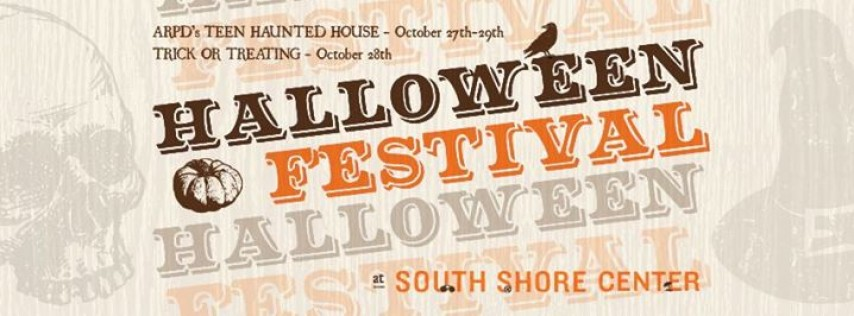 South Shore Center's Free Halloween Festival