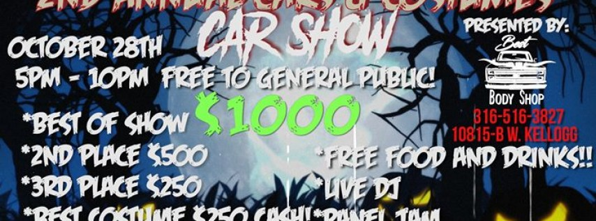 2nd Annual Cars and Costumes Car Show hosted by: Best Body Shop!