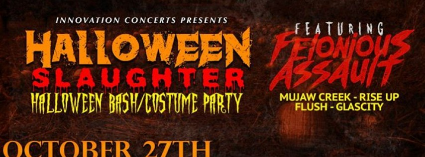 Halloween Slaughter at Frankie's 10/27