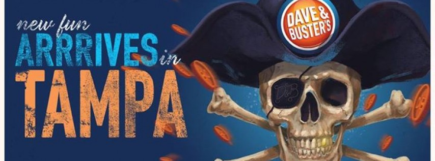 Dave Amp Busters Tampa Grand Opening Tampa FL Oct 30