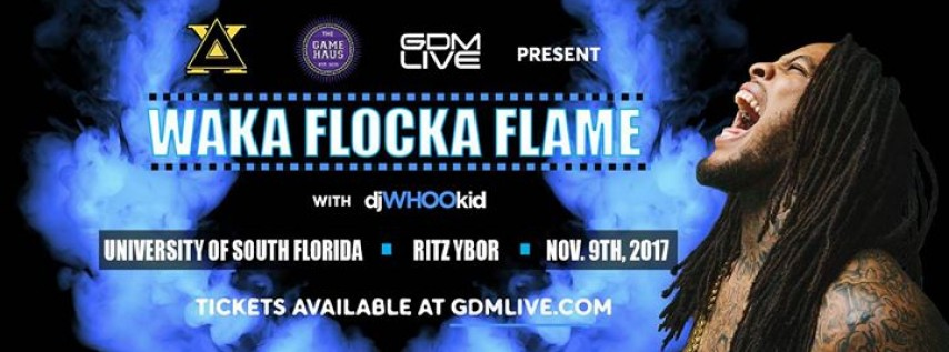 Delta Chi Presents Waka Flocka Flame