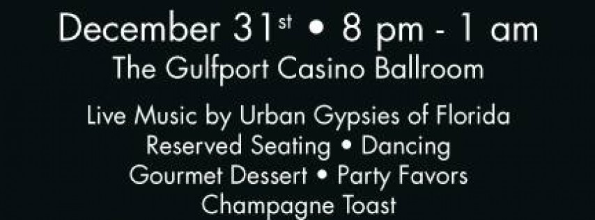New Year's Eve Gala 2018 - Gulfport Casino Ballroom
