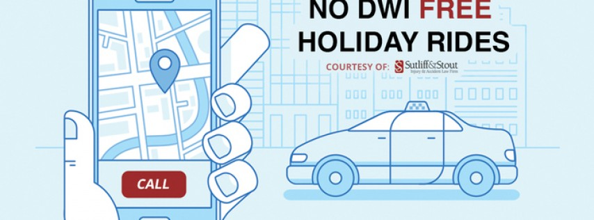 Sutliff & Stout No DWI Free Holiday Rides | Halloween 2017
