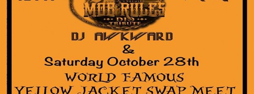 Heavy Metal Halloween & World Famous Swap Meet