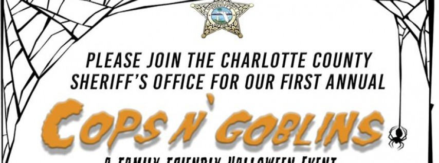First Annual Cops N' Goblins Halloween Event