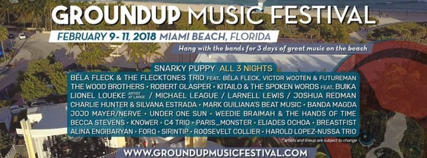 GroundUP Music Festival 2018
