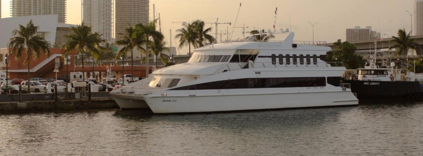 2018 New Year's Eve Dinner Cruise on Biscayne Lady