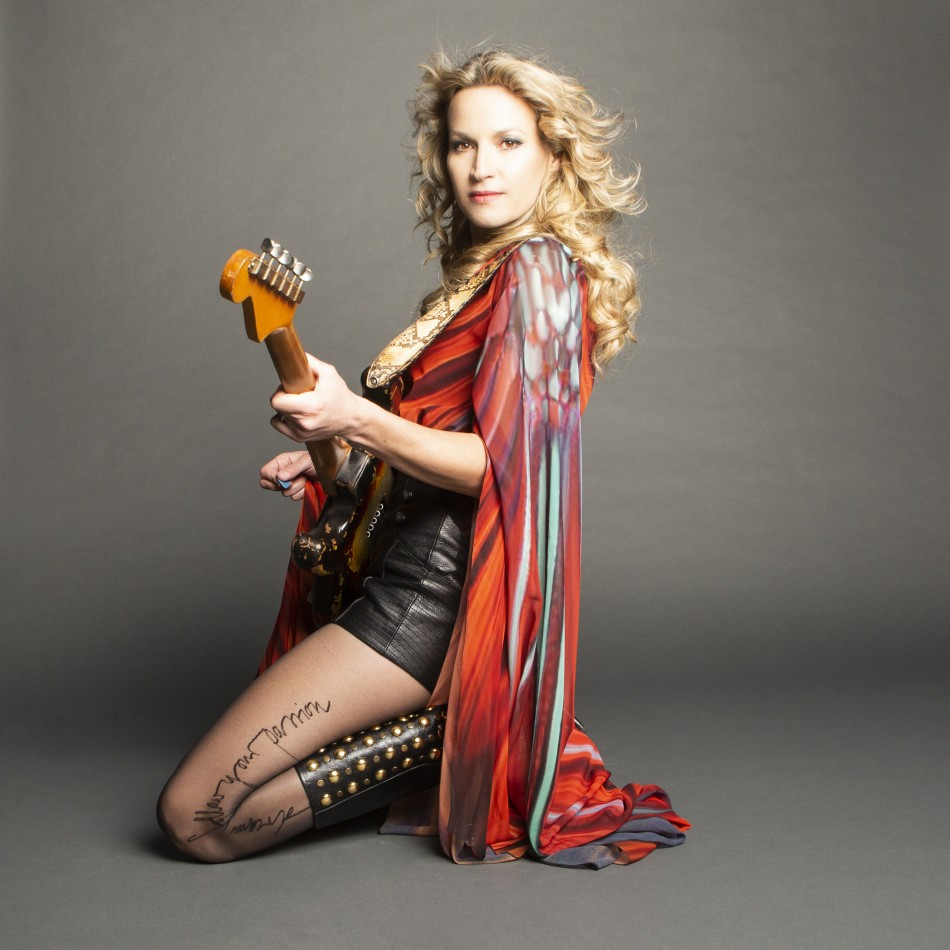 Ana Popovic Late Show at SHAMc
