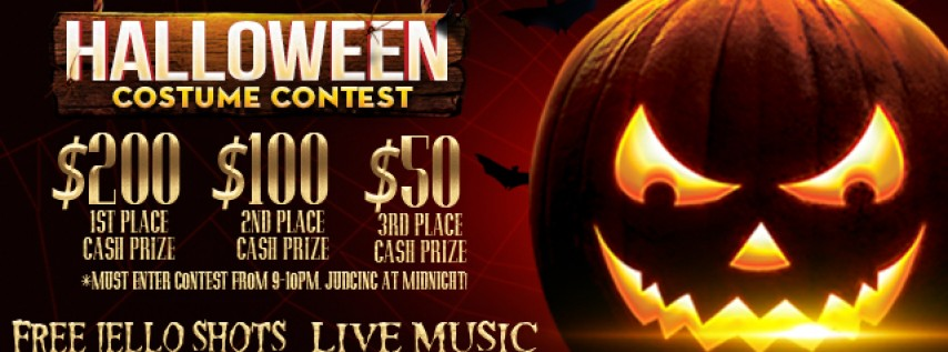 Halloween Costume Contest at the Caboose Bar