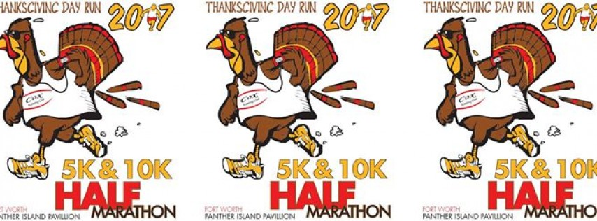2017 Thanksgiving Day Run Half-Marathon/10K/5K/1 Mile Run