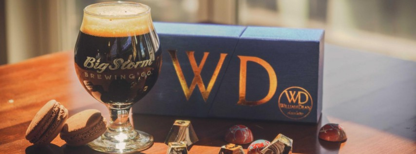 Big Storm and Williams Dean Chocolate Beer Release