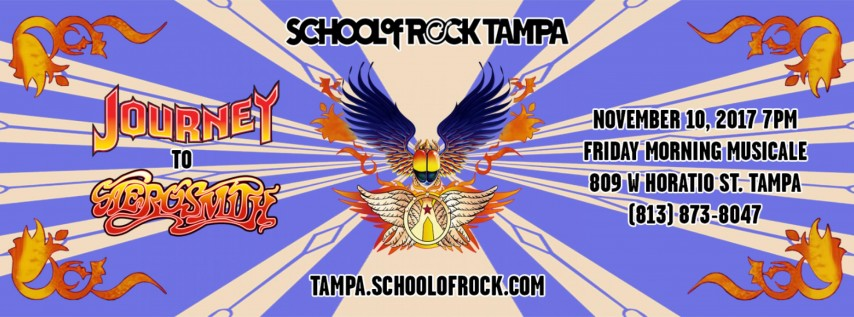 School of Rock Tampa Concert - Journey to Aerosmith