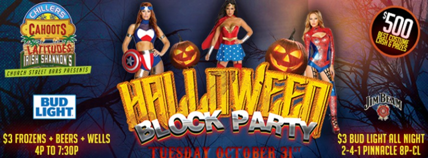 Church Street Bars Halloween Block Party