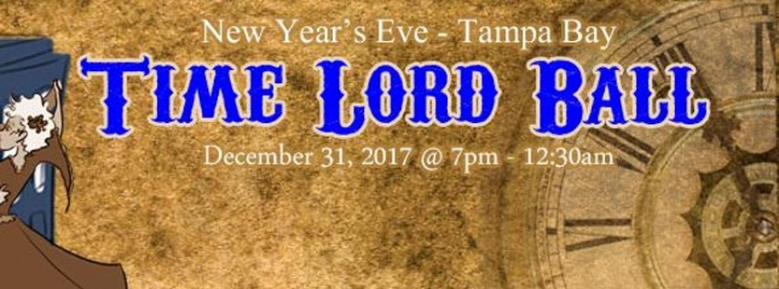 New Year's Eve Time Lord Ball 2017