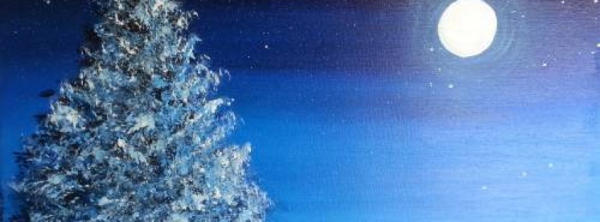 Wine & Canvas Painting Class: Holiday Paradise