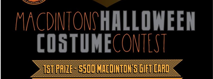 Halloween Costume Party At MacDintonu0027s, Tampa FL   Oct 31, 2017   7:00 PM