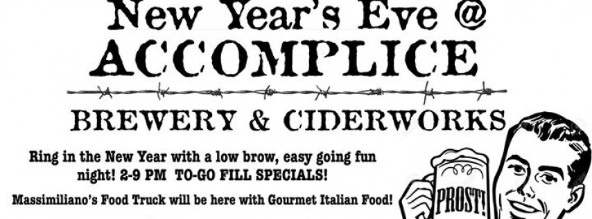 Poor man's New Year's Eve at Accomplice