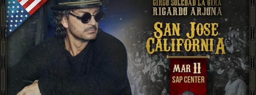 Ricardo Arjona - Circo Soledad. San José, California