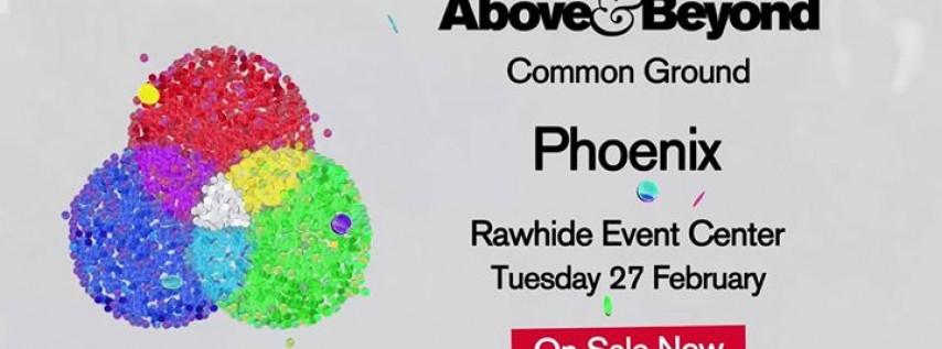 Above & Beyond: Common Ground Phoenix