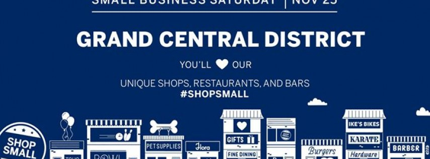 Forget Black Friday! Grand Central Small Business Saturday