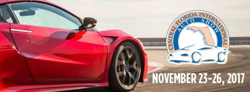 Central FL Intl Auto Show Orlando FL Nov PM - Car show orlando fl
