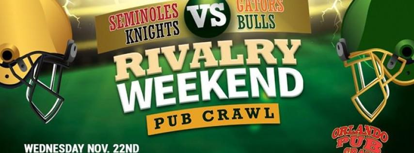Rivalry Weekend Pub Crawl