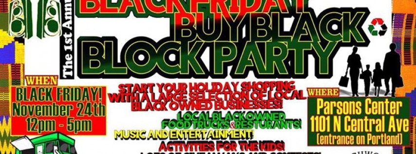 Black Friday Buy Black Block Party by Archwood Exchange