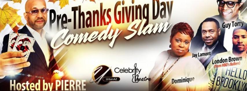UrbanAZ Pre-Thanksgiving Day Comedy Slam!