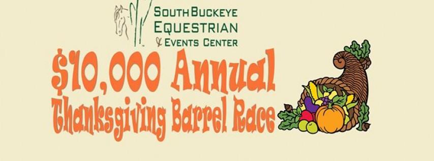 Annual $10,000 Thanksgiving Barrel Race