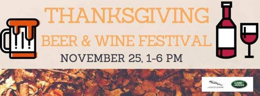 Thanksgiving Craft Beer & Wine Festival