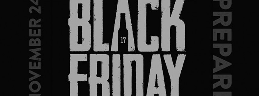 Black Friday Imperial Stout Release
