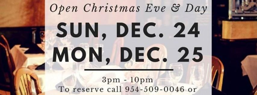 Christmas Eve & Day Dinner
