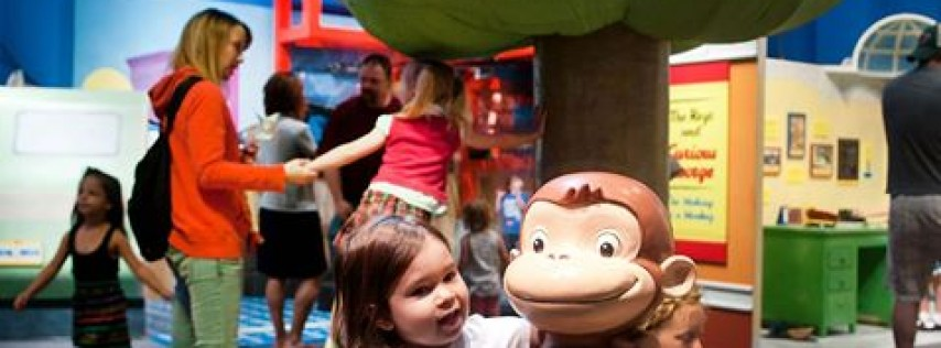 Curious George: Let's Get Curious! Exhibit Opens