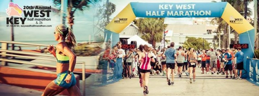 20th Anniversary Key West Half Marathon & 5K