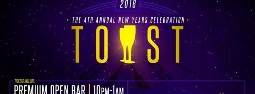 TOAST NYE 2018 Celebration at Aloft Orlando