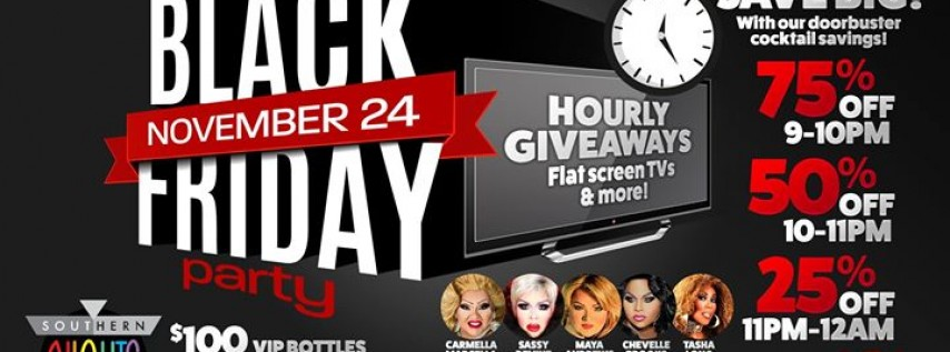 4th Annual BLACK Friday Party at Southern Nights ORL