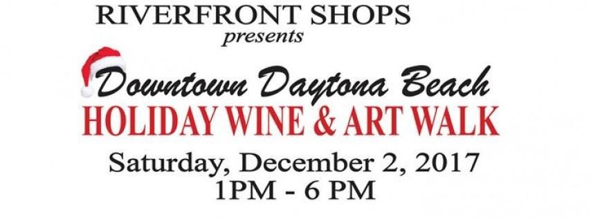 Downtown Daytona Beach Holiday Wine & Art Walk
