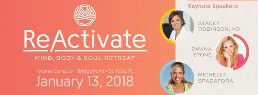 ReActivate Retreat: Mind, Body & Soul Retreat