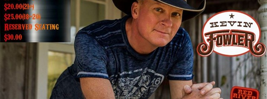 Kevin Fowler @ Red River
