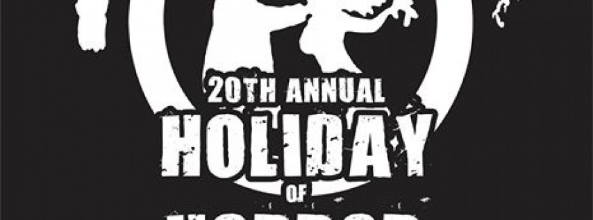 20th Annual Holiday of Horror featuring Macabre at Reggies